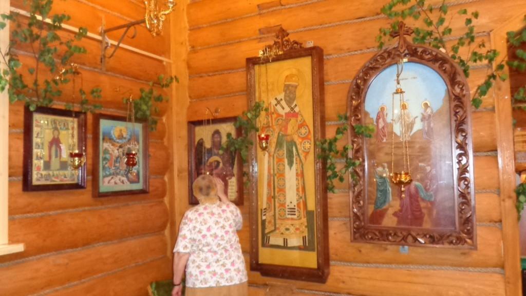 Атепцево церковь День Святой Троицы.